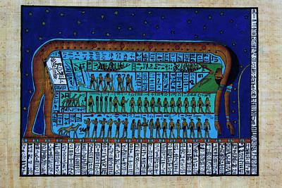 Photograph - The Egyptian Goddess, Nut by Bernice Williams