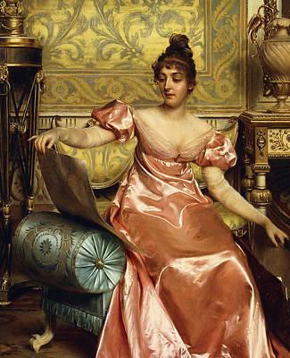 The Elegant Connoisseur Print by Joseph Frederick Charles Soulacroix