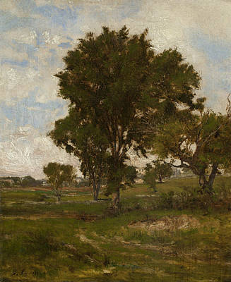 George The Painter Painting - The Elm Tree by George Inness