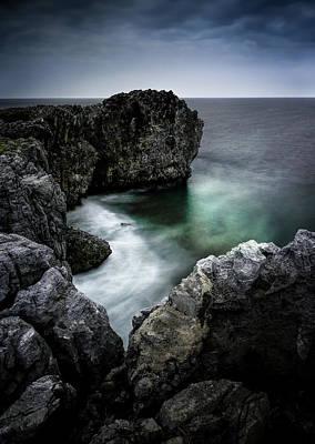 Hedo Photograph - The Emerald Cove by Masa Onikata