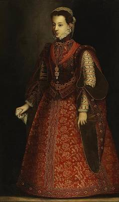 Portugal Art Painting - The Empress Isabel Of Portugal by MotionAge Designs