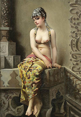 Luis Ricardo Falero Painting - The Enchantress by Luis Ricardo Falero
