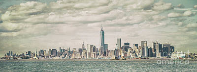 Costal Photograph - The Endless City by Evelina Kremsdorf