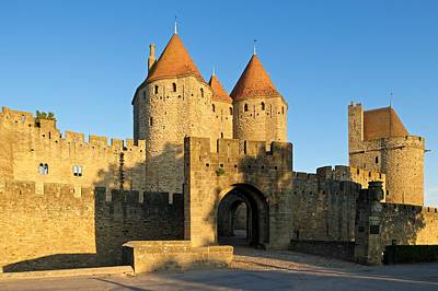 The Entrance To Carcassonne Print by Stephen Taylor