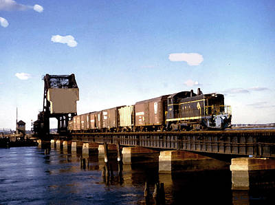 The Erie 486  Train Print by Iconic Images Art Gallery David Pucciarelli