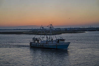 New Jersey Photograph - The Evening Star In Cape May Harbor by Bill Cannon