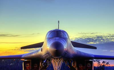 B1b Photograph - The Face Of American Airpower by JC Findley
