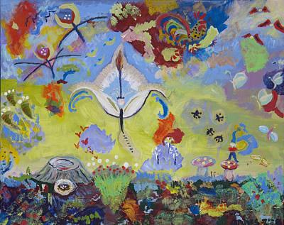 The Fairy Queen Original by Angela Annas
