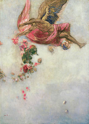 The Fall Of Icarus  Print by Odilon Redon