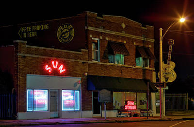 The Famous Sun Records Studio Print by Mountain Dreams