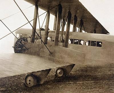 Cockpit Drawing - The Farman F.60 Goliath Passenger by Vintage Design Pics