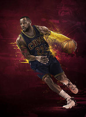 Lebron James Drawing - The Fast And Furious by Jeric Barnutz