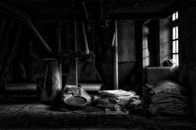 Old Feed Mills Photograph - The Feed Mill by Mountain Dreams