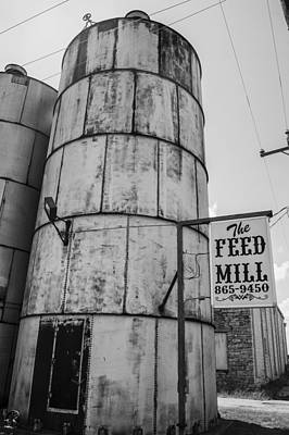 Feed Mill Photograph - The Feed Mill by Craig David Morrison