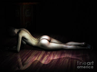 The Female Form Print by Alexander Butler