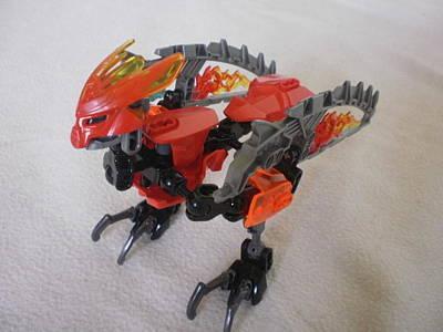The Fire Bird - Lego Designer Original by Yuri Hope