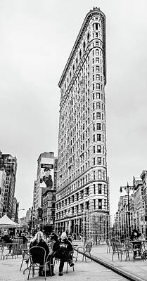 The Flat Iron Building Print by Alexandra Kleinichen