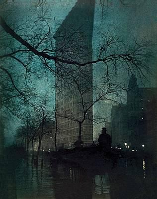 The Flatiron Building Original by Edward Steichen