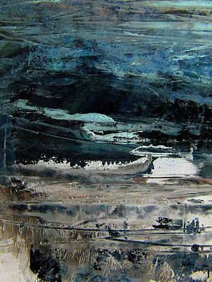 The Flood On The Rivers Print by Nancy Kane Chapman