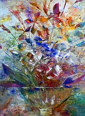 Pallet Knife Digital Art - The Flowers Of Education by Lisa Kaiser