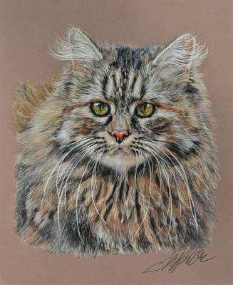 The Fluffy Feline Original by Terry Kirkland Cook