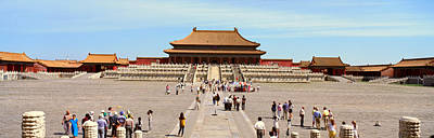The Forbidden City - Tai He Dian Hall Print by Panoramic Images