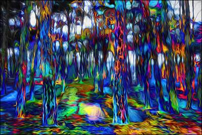 The Forest Of Dreamers  Original by Daniel Arrhakis