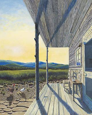 The Front Porch Print by Susan Schneider