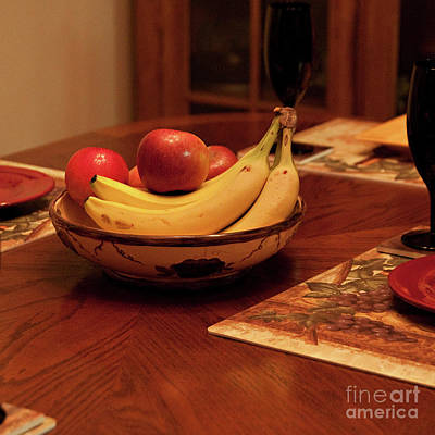 Photograph - The Fruit Bowl by Sherry Hallemeier