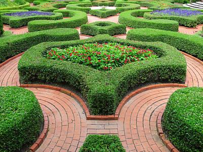 Walkway Digital Art - The Garden 4 by Mike McGlothlen