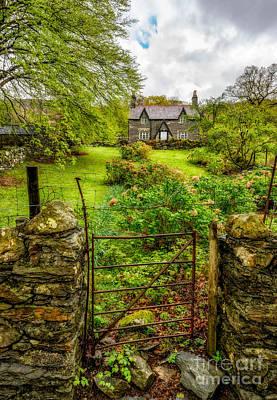 The Garden Gate Print by Adrian Evans