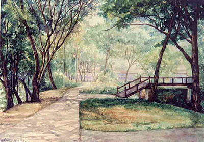 The Garden Original by SiamArtist Gallery