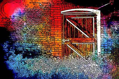 The Gate Print by Tom Gowanlock