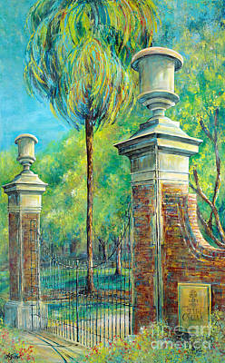 Palmettos Painting - The Gates Of The Horseshoe I by Lindsey Fisher