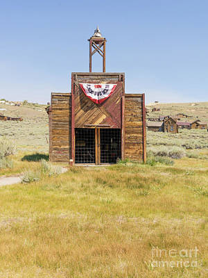 49er Photograph - The Ghost Town Of Bodie California Fire House Dsc4431 by Wingsdomain Art and Photography