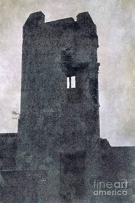 Ruins Mixed Media - The Ghostly Tower by Linsey Williams