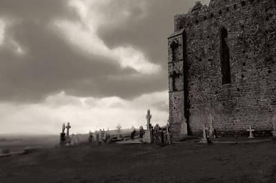Celtic Photograph - The Ghosts Of Cashel Rock Ireland by Menega Sabidussi