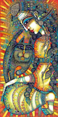 Painting - The Gipsy by Albena Vatcheva