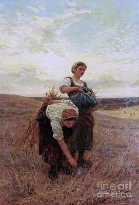The Gleaners, Print by Frederick Morgan