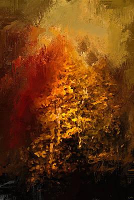 The Glory Of Autumn Print by Jai Johnson