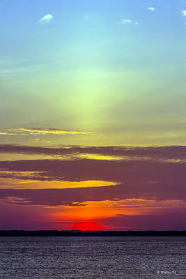 Luminous Globe Photograph - The Glow Of Sunset by Brian Wallace