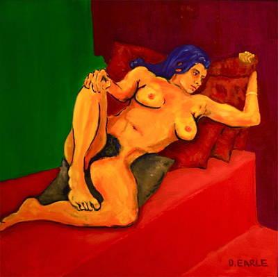 The Golden Pose Original by Dan Earle