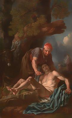 Giving Painting - The Good Samaritan by Mountain Dreams
