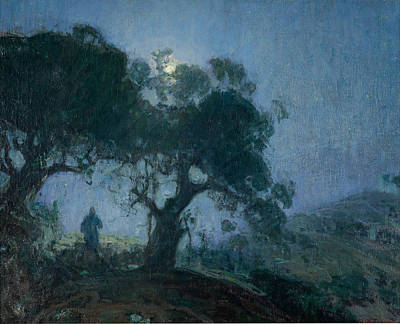 Henry Ossawa Tanner Painting - The Good Shepherd by Henry Ossawa Tanner