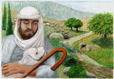 The Good Shepherd Original by Todd Hatchett