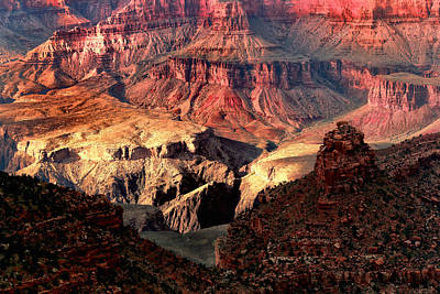Grand Canyon Digital Art - The Grand Canyon I by Tom Prendergast