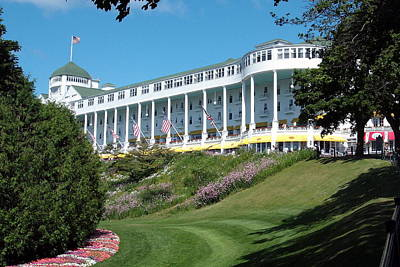 Mackinac Photograph - The Grand Hotel Mackinac Island by Spencer Meagher