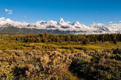 Nature Photograph - The Grand Tetons - Grand Tetons National Park Wyoming by Brian Harig