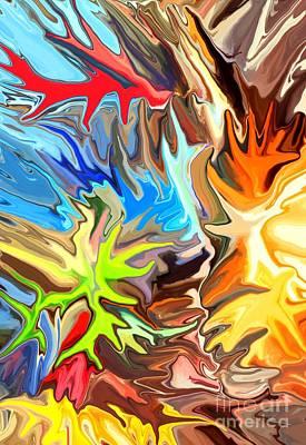 Chris Digital Art - The Great Barrier Reef II by Chris Butler