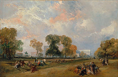 James Duffield Harding Painting - The Great Exhibition Of 1851 by James Duffield Harding